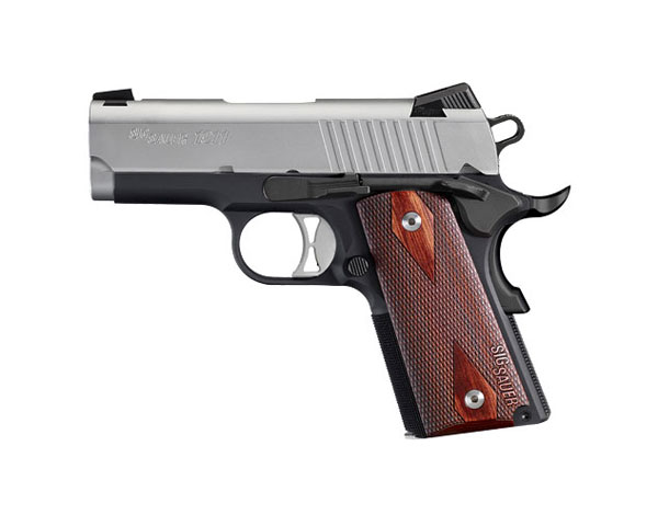 "Sig Sauer 1911 Ultra Compact .45 ACP 3.3"" Barrel, Night Sights (Pre-Owned)"