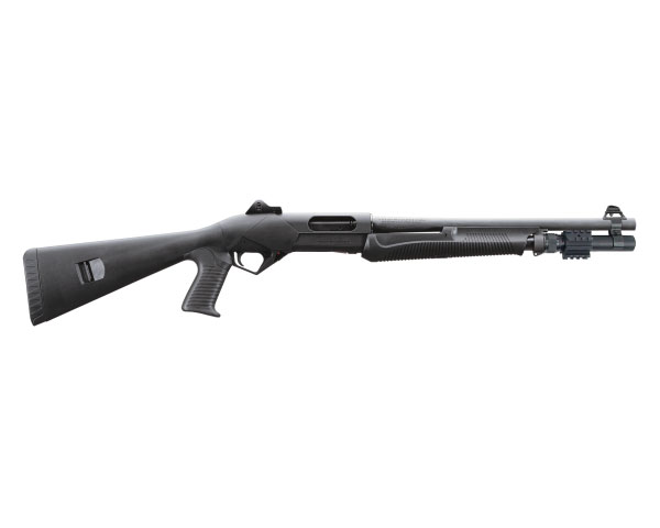 "Benelli SuperNova LE Tactical Pump Shotgun 12 Ga 18.5"" Barrel, Rifle Sights MPN 20151"