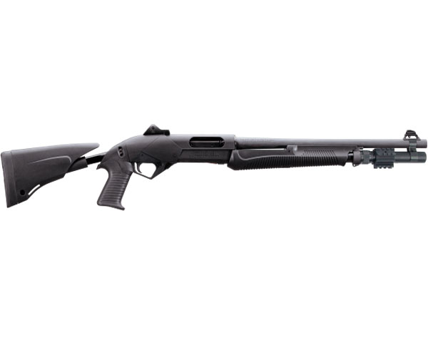 "Benelli SuperNova LE Tactical Pump Shotgun 12 Ga 18.5"" Barrel, Rifle Sights MPN 20159"