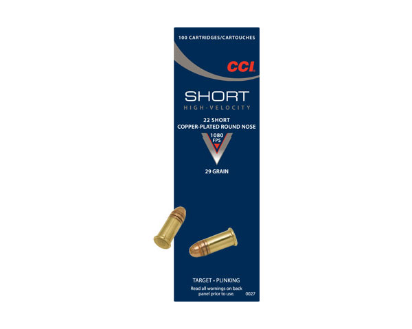 CCI .22 Short 29 Grain CPRN 0027 (5000 Round Case)