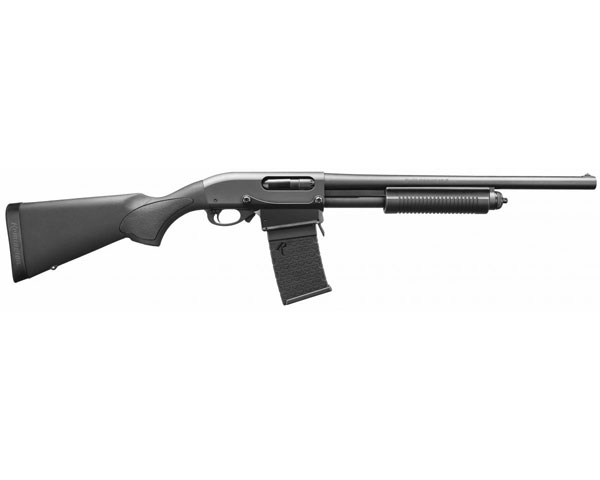 "Remington 870 DM 12 Ga Shotgun W/Detachable Magazine 18.5"" Barrel"