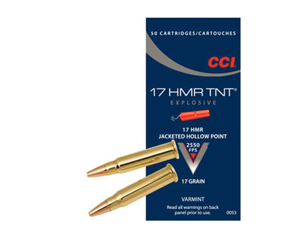 CCI 17 HMR TNT Hollow Point 0053 (2000 Round Case)