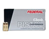 Federal Law Enforcement 9mm Luger 115 Grain +P JHP 9BPLE (1,000 round case)