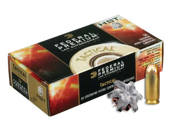 Federal Tactical HST .40 S&W 180 Grain P40HST1B (1,000 round Case)
