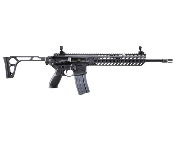 "Sig Sauer MCX Patrol 300 Blackout 16"" Barrel Tele Stock."