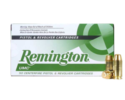 Remington 40 S&W 180 GR FMJ L40SW3 (500 Round Case)