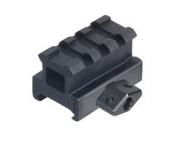 "UTG 0.83"" High 2-Slot Low-Profile Super Compact Riser Mount"