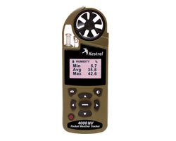 Kestrel 4000 Night Vision Wind Meter Desert Tan With Bluetooth