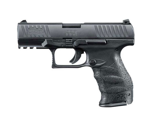 "Walther PPQ M2 9mm 4"" Black Poly Grip 15+1"