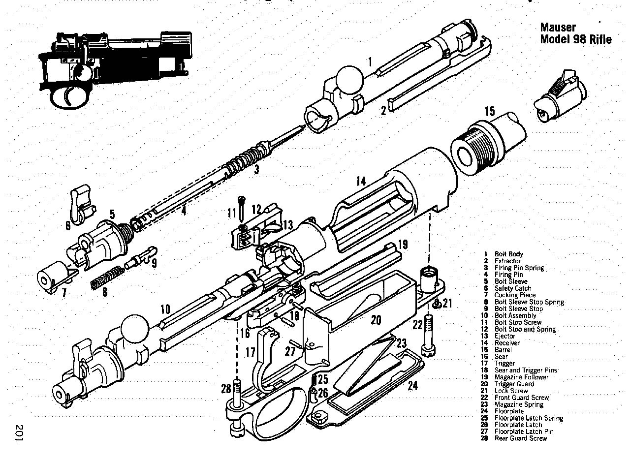 mauser98 Winchester Model Schematic on winchester model 270 parts diagram, winchester model 1200 parts diagram, winchester model 12, winchester model 74, winchester model 190 parts diagram, winchester model 1400 parts diagram, winchester 74 schematics, winchester model 50 parts, remington 870 schematics, winchester model 63 parts diagram, winchester model 77 breakdown, winchester model 94 30-30, winchester 1873 parts diagram, winchester model 77 parts list, winchester model 37 parts diagram, winchester model 9422 schematic, winchester model 100 parts, winchester model 37 parts list, winchester model 100 disassembly,