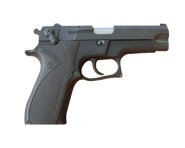 Smith & Wesson 5904 9mm Semi Auto Pistol Pre-owned - Black