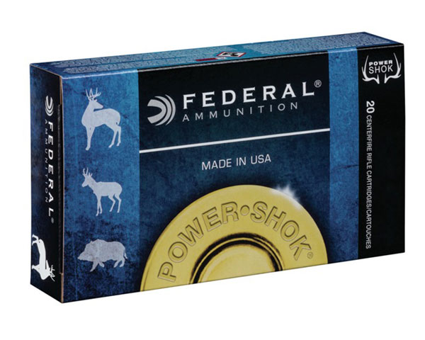 Federal 6.5 Creedmoor 140 Grain Power Shok JSP (200 Round Case) 65CRDB