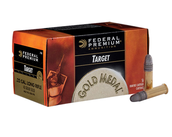 Federal Gold Medal Target .22 Caliber 40 grain 711B (5000 Round Case )