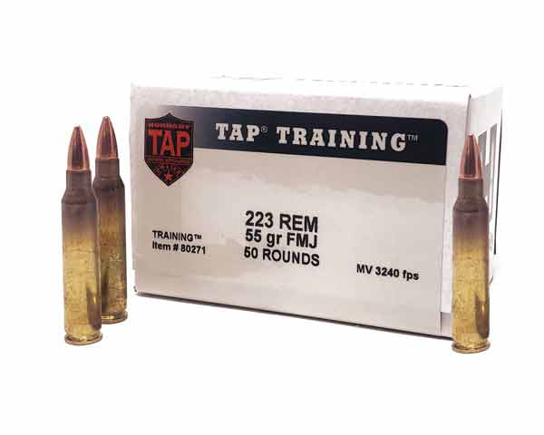 Hornady .223 55 gr FMJ TAP 80271 (500 Round Case)