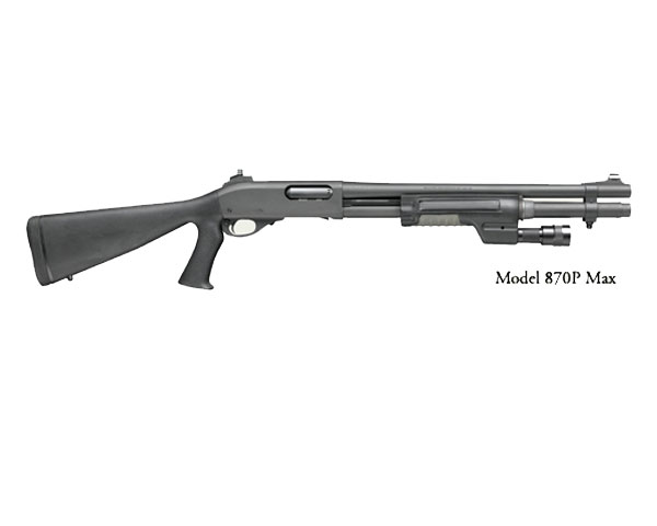 "Remington Model 870P MAX Police Shotgun 18"" Barrel MPN 24971"