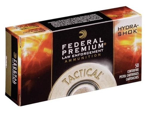 Federal LE .40 S&W 180 Gr Tactical Hydra-Shok P40GS1G (1,000 round Case)