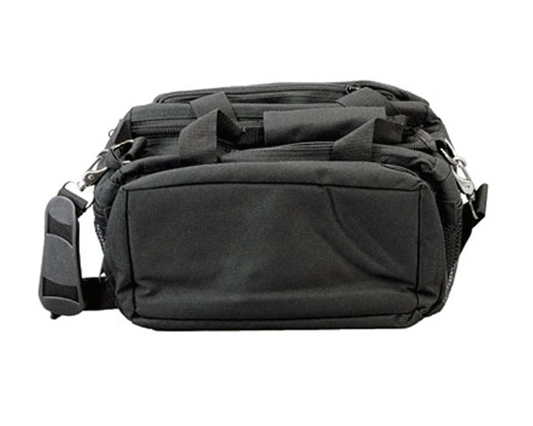 Bulldog Deluxe Range Bag W/Strap - Black