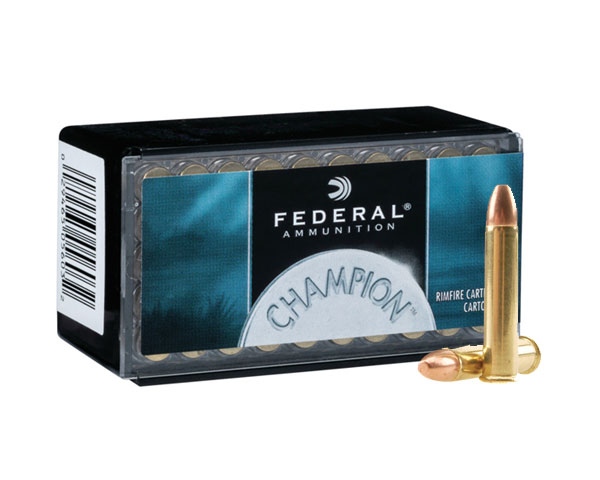 Federal Champion .22 WMR 40 Grain FMJ (3000 round case)
