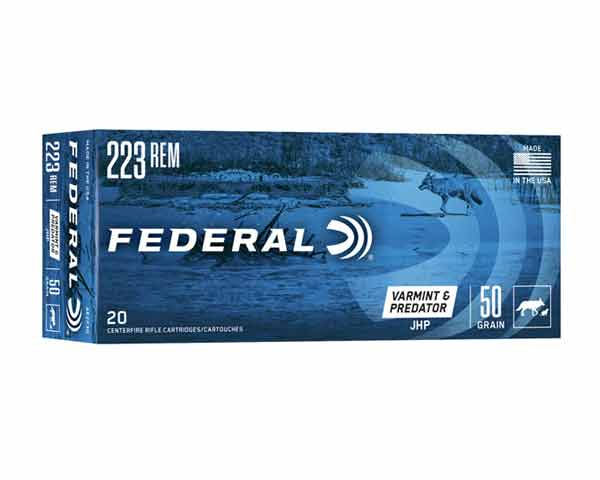Federal AE Varmint 223 Rem 50 Gr FMJ (5.56x45mm) AE223G (500 Rounds)