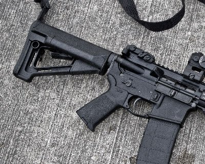 Magpul STR Butt Stock - Commercial - Black
