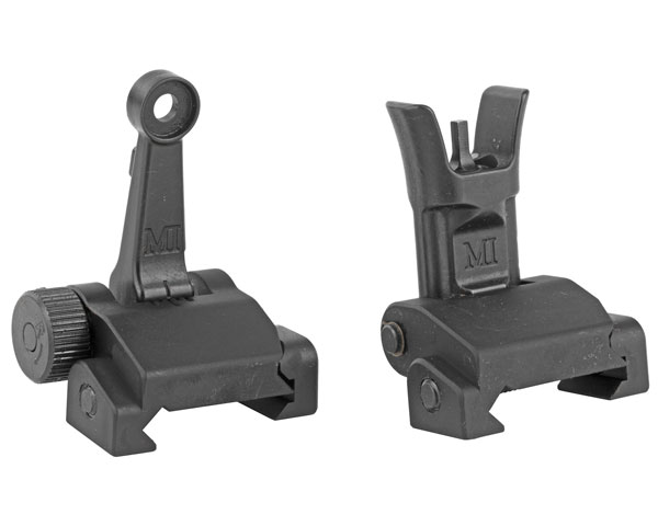 Midwest Industries Combat Rifle Sight Set - Black