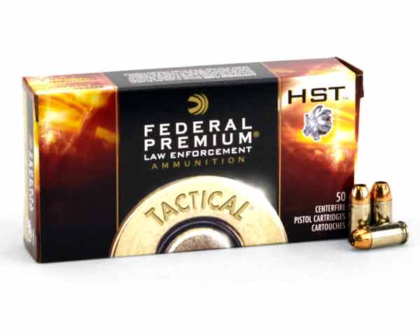 Federal LE Tactical HST 380 Auto 99 Grain HST P380HST1 (1000 Round Case)