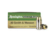 Remington Golden Saber .40 S&W 165 Grain JHP (500 Round Case)