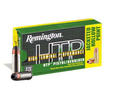 Remington HTP 38 Special 110 Grain SJHP RTP38S16 (500 round case)