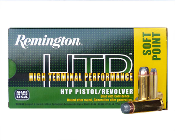 Remington HTP .44 Magnum 240 Gr SP RTP44MG2 (500 Round Case)