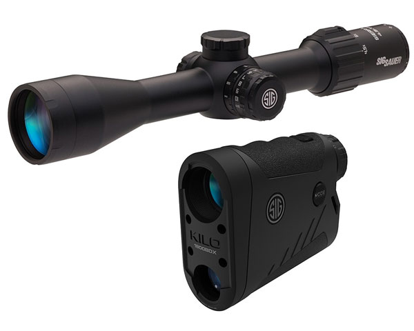 Sig Sauer BDX Combo KILO 1800BDX Laser Ranger Finder and SIERRA 3BDX 4.5-14X42mm Rifle Scope,