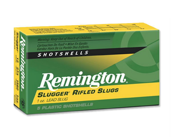 "Remington 12 Ga Law Enforcement Slugger Rifled Slugs 2 3/4"" 20279 (250 Round Case)"
