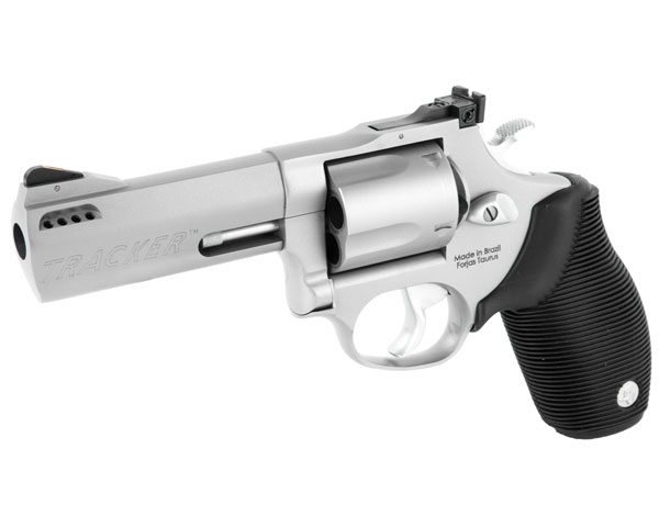 "Taurus 44 Tracker Matte Stainless .44 Mag 4"" Ported Barrel - Click Image to Close"