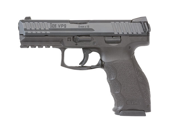 HK VP9 9MM W/Night Sights & 3 Magazines