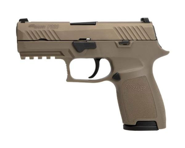 Sig Sauer P320 Compact .45 ACP With Night Sights