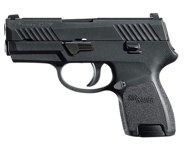 Sig Sauer P320 Subcompact 40 S&W Handgun with Night Sights - W320SC-40-BSS