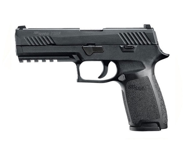 Sig Sauer P320 Full Size .45 ACP Handgun with Night Sights