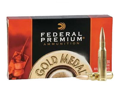 Federal .308 GM308M2 175 Gr. Gold Medal Match (200 Round Case) - Click Image to Close