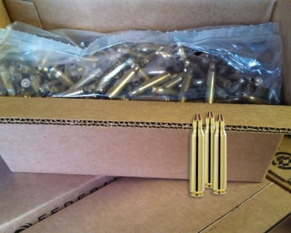 Lake City 5.56 M200 Blanks (1000 Round Case) - Click Image to Close