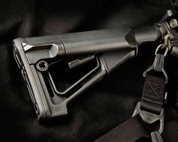 Magpul STR Butt Stock - Mil Spec Black - Click Image to Close