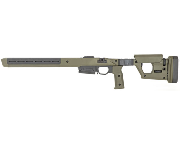 Magpul Pro 700 Rifle Chassis - OD Green (Fixed Version) - Click Image to Close