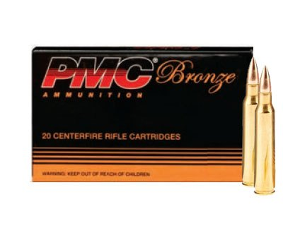 PMC 223A 55 Gr FMJ-BT .223 1,000 Round Case - Click Image to Close