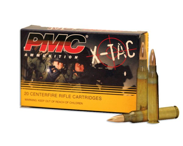 PMC 5.56X 5.56 55 Gr X-TAC FMJBT 556X (1,000 Round Case) - Click Image to Close