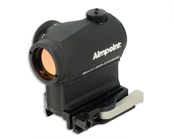 Aimpoint T-2 Micro T-2 AR15 ready 2 MOA, LRP mount/39mm spacer - Click Image to Close