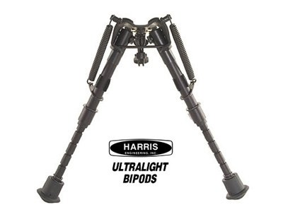 "Harris Lightweight Bipod Bench Rest 6"" to 9"" - Click Image to Close"