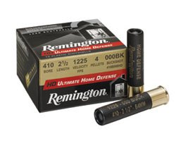"Remington .410 Ultimate Home Defense 2½ "" 000 Buckshot (150 round case)"