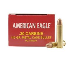 Federal AE30CB 110 Gr .30 Carbine (500 Round Case)