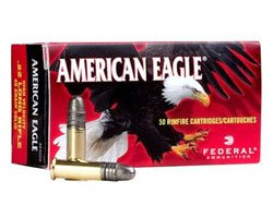 Federal AE5022 40 Grain 22 LR Solid (5000 Round Case)