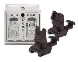 A.R.M.S. Polymer Flip-Up Front & Rear Back-Up Sight Set
