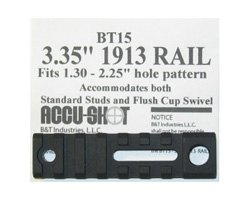 "Accu-Shot BT15 3.35"" 1913 Rail"