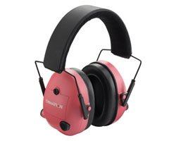 Champion Ladies Electronic Hot Pink Ear Muffs